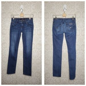 Hudson Skinny Jeans Flap Pockets 24 262!21